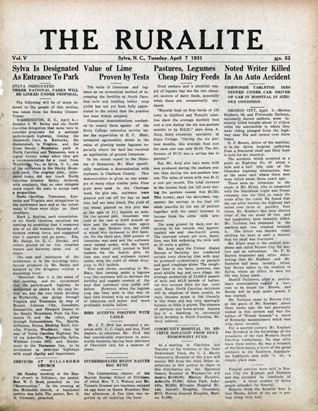 sylva_April 7 1931